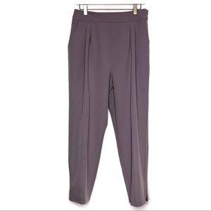 ASOS Lilac Straight Leg Trousers